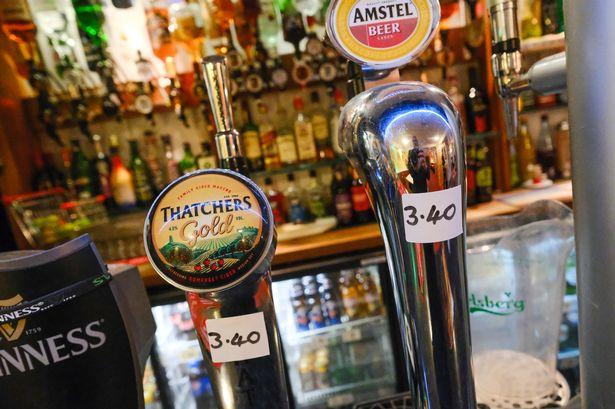 Bar Price Increase